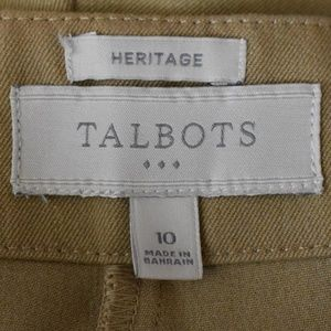 Talbots Pants - Talbots Size 10 Heritage Side Zip Pants